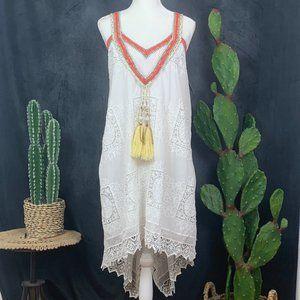 Boston Proper Dresses - CLEARANCE 🆕 Boston Proper Lace Asymmetrical Dress